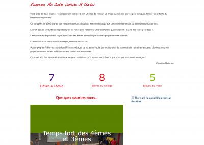 Centre scolarie St Charles – Rillieux-la-pape